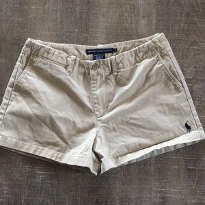 RL Polo Sport khaki shorts